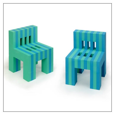 EVA FORM CHAIRS (clever tomato