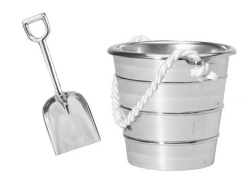 ice cream shovel and pail