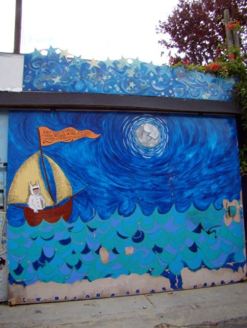 WTWA mural the haystack needle