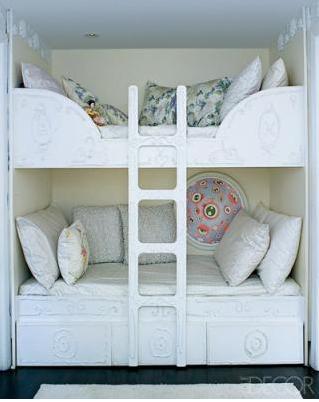 Best kids bunk beds coolest kids rooms t rex me 39 s weblog for Elle decor beds